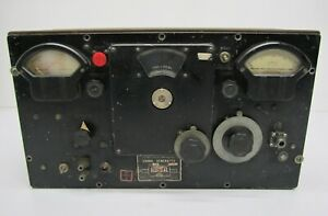 Vtg Federal Ge Ultra High Frequency Tube Signal Generator Type 804 Cs1 As Is