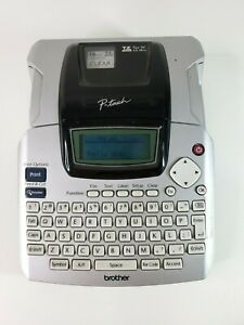 Brother P Touch Pt 2100 Label Maker Label Printer No Power Cord Tested Working