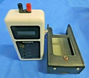 Thermo Electric Micromite Temperature Thermocouple Calibrator Dual Range