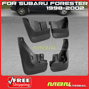 For Subaru Forester Mud Flaps Splash Guards 4 Pcs Left Right Front Rear 98 02