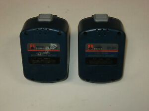 Pair Huskie Crimper Batteries Bp 84