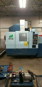 Used Matsuura Ra iig Cnc Vertical Machining Center Mill W Auto Pallet Changer 00