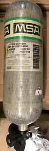 Msa 45 Minute 4500 Psi Carbon Scba Air Bottle Cylinder Breathing Tank Mfr 2010