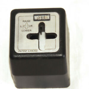 Western Snow Plow Joystick Controller Cover