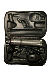 Welch Allyn Otoscope Ophthalmoscope Diagnostic Set 3 5v Handle