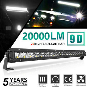 22inch 1800w Straight Cree Led Spot Flood Combo Quad Row Driving Light Bar 20