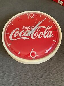 Enjoy Coca Cola Clock Collectible