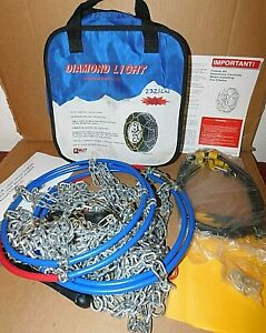 2321lw Diamond Back Light Truck suv Tire Snow Chains Never Used