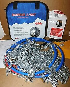 2328lw Diamond Back Light Truck suv Tire Snow Chains Never Used