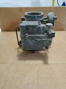 Vintage Carter Carbureter Carburetor 781s Used Froze Parts Or Repair Only 118 68