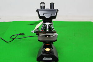 Fabulous Binocular Laboratory Microscope By Vickers Instruments In Great Working