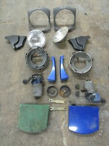 Porsche 914 Headlight Assembly And Motor Set Nice Used 91475000000