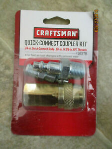 Craftsman Quick Connect Coupler Kit For Air Tools