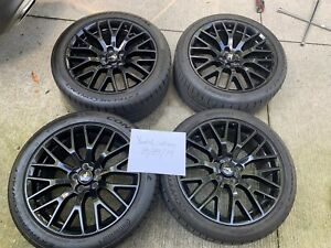 19 Inch Ford Mustang Premium Gt Oem Rims Wheels Michelin Pilot Sport 4s Tires