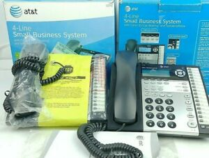 2 At t 1070 4 Line Small Business System Phone Intercom Business Phone System
