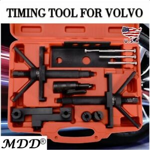 Timing Locking Tool Set Camshaft Cam Engine Alignment For Volvo Crankshaft New