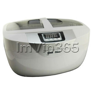 2 5l Ultrasonic Cleaner Dental Cosmetics Jewelry Coin Tattoo Parts Eyeglasses