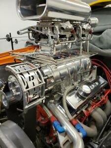 Turn key supercharged Chevrolet 355 Small Block Engine 675 700 Hp