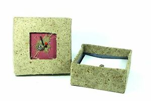 Large Memo Box Seeds Sheets From Handmade Paper Fair Trade Y 23