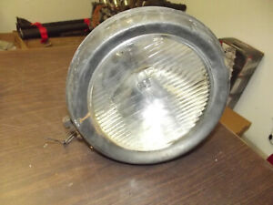 Vintage Guide Tilt Ray Lens Headlight Firetruck Car Light Rat Rod