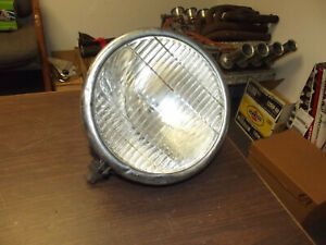 Vintage 1020 s 1930 s Headlight Glolite Firetruck Car Light Rat Rod Nash