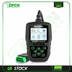 Scanner Diagnostic Code Reader Obd2 Obdii Eobd Diagnostic Tool Kit 8 18v Kwp2000