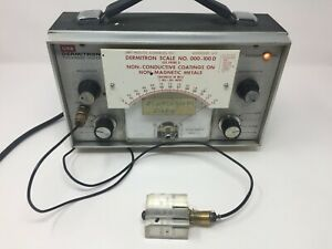 Upa Dermitron Thickness Tester Model D 8 W 180 Probe Guide