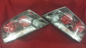 Genuine Mitsubishi Evolution Evo 8 9 Viii Ix Taillights Black Housing Left Right