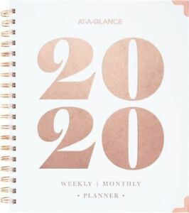 At a glance Badge Bold Year Weekly monthly Hardcover Planner Badge