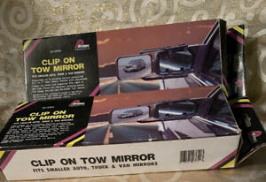 Prime Products 30 0095 Clip on Regular Tow Mirrors Set Of Two