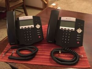 Polycom Voip Business Desktop Phone soundpoint Ip450 lot Of 2 used