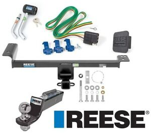 Reese Trailer Tow Hitch For 15 19 Range Rover Evoque Deluxe Wiring 2 Ball Lock