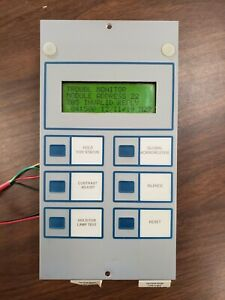 Notifier Lcd 80 Annunciator Fully Tested