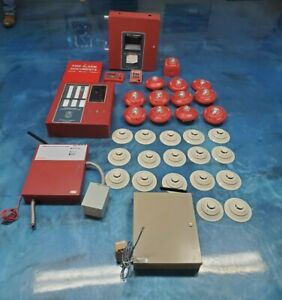 Honeywell Complete Fire Alarm System In Perfect Working Condition