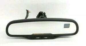 2003 2009 Chevy Silverado Sierra Gmc Rear View Mirror Compass temp Oem 15176974