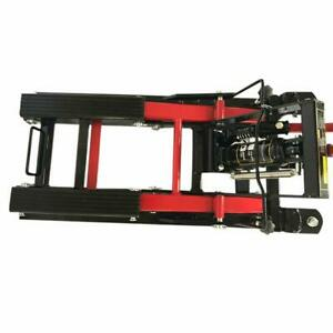 1500lb Adjustable Motorcycle Jack Atv Dirt Bike Vehicles Lift Stand Manual Tool