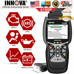 Abs Srs Scanner Obd2 Code Reader Engine Fault Oil Service Auto Diagnostic Tool