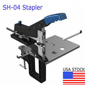 Professional Manual Dual Flat Nail Saddle Stitch Stapler Binder Binding Machine