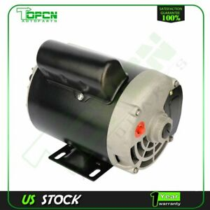 1 Hp Air Compressor Electric Motor 56 Frame 3450 Rpm Single Phase 5 8 shaft