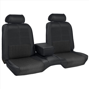 1969 Mustang Coupe Deluxe Front Rear Seat Cover Set With Comforweave Inserts Tmi