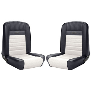 1964 1 2 1966 Mustang Coupe Deluxe Pony Interior Front Rear Seat Cover Set Tmi