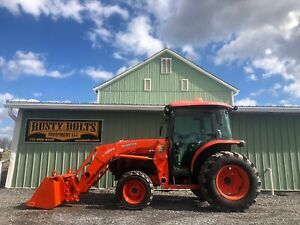 2011 Kubota L5240 Hst 4x4 Tractor Loader Enclosed Heat And Ac Only 765 Hours
