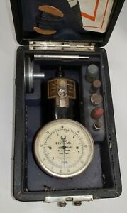 Vintage O Zernickow Swiss Made Hand Tachometer Model A i 60 To 2400 Rpm Works