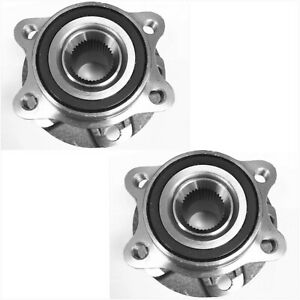Front Wheel Hub Bearing Assembly For Audi A4 A5 A6 A7 A8 S4 S5 S6 S7 S8 Pair
