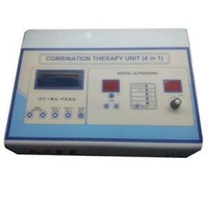 New 4 In 1 Combination Therapy Machine Microwave Therapy Physiotherapy Equipment