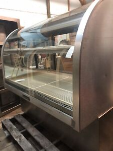 Delfield 48 Curved Front Glass Dry Donut Bakery Dessert Display Show Case 4