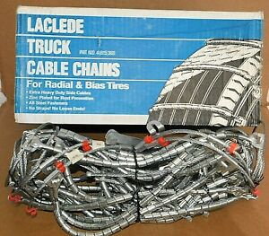 Laclede Truck Cable Tire Snow Chains Stock 3010 wbtc Never Used