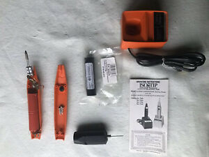 Isotip Cordless Soldering Iron With Pc Drill