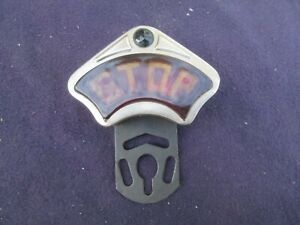 Vintage Original Accessory Model T Ford Auto Stop Brake Light Lamp Lens
