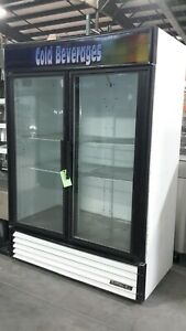 Used True Gdm 49 Two Section Refrigerated Merchandiser